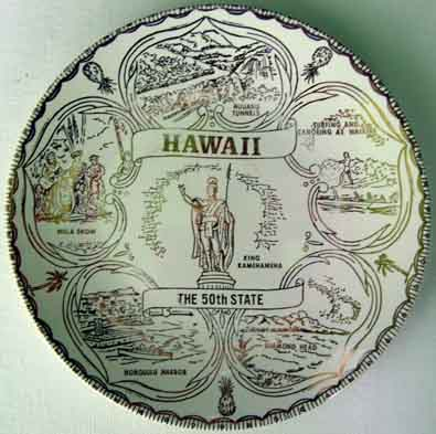 Hawaii - Plate Front