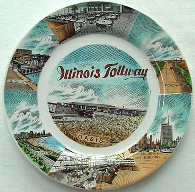 Illinois Tollway - Plate Front