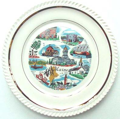 Maine - Plate Front
