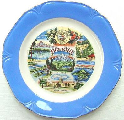 Oregon - Plate Front