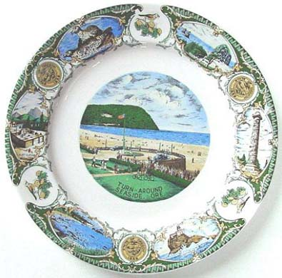 Turn Around Seaside Oregon - Plate Front