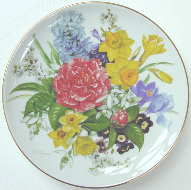 Spring Morning - by Ursula Band - Plate Front
