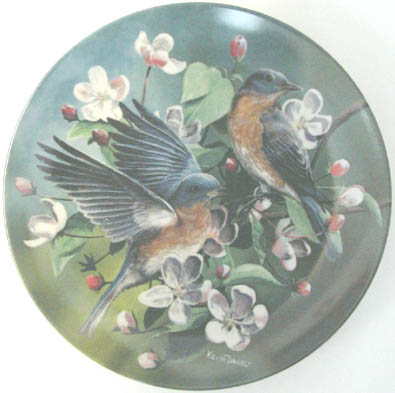The Bluebird - by Kevin Daniel - Plate Front