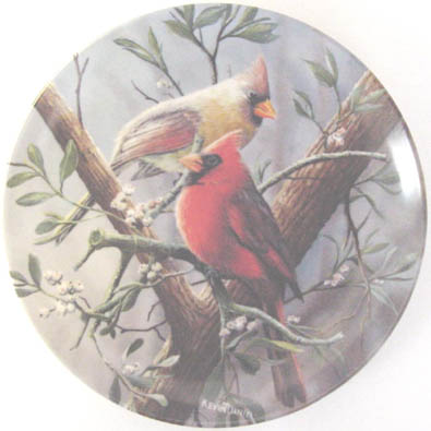The Cardinal - by Kevin Daniel - Plate Front