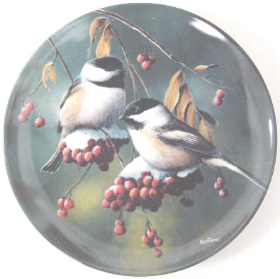 The Chickadee - by Kevin Daniel - Plate Front