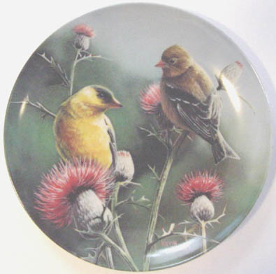 The Goldfinch - by Kevin Daniel - Plate Front