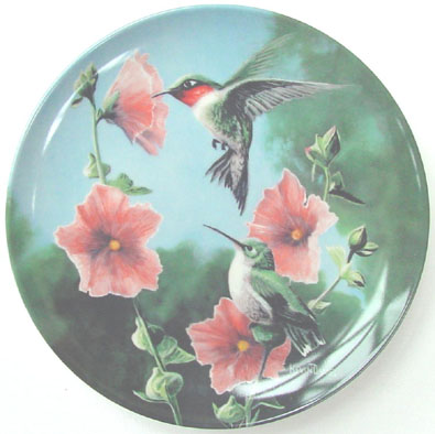 The Hummingbird - by Kevin Daniel - Plate Front