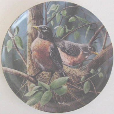 The Robin - by Kevin Daniel - Plate Front